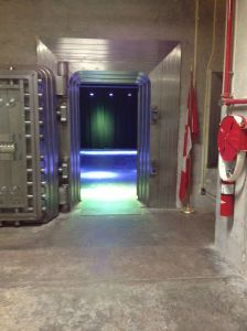 Bank of Canada Vault - Where they kept the loonies?