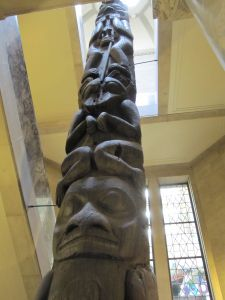 Totem Pole at the Royal Ontario Museum