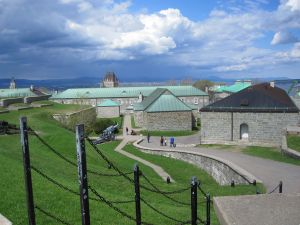 Buildings at the Citadelle of Quebec