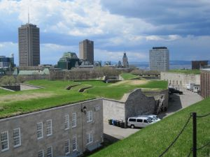 Buildings at the Quebec Citadelle