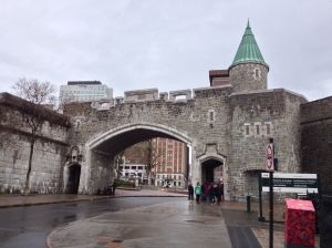 Gate to Quebec City's Old Town
